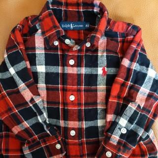 Ralph Lauren - 80サイズ ラルフローレン ネルシャツ