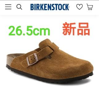 ビルケンシュトック(BIRKENSTOCK)の新品 ビルケンシュトック ボストン スエード(サンダル)