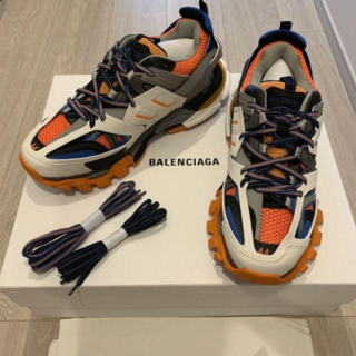 バレンシアガ(Balenciaga)のBALENCIAGA TRACK ORANGE 18AW TRIPLE S(スニーカー)