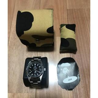 A BATHING APE - レア bape エイプ 時計 正規店購入 美品