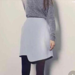 ENFOLD - ENFOLD アシンメトリーwool スカート