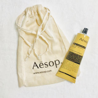 Aesop - 【新品】イソップ ボディーバーム巾着セット