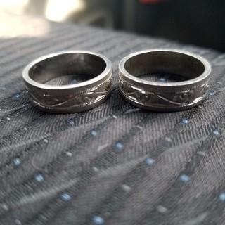 silverリング二個(リング(指輪))