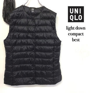 UNIQLO - 美品 UNIQLO 2wayウルトラ ライトダウン コンパクト ベスト