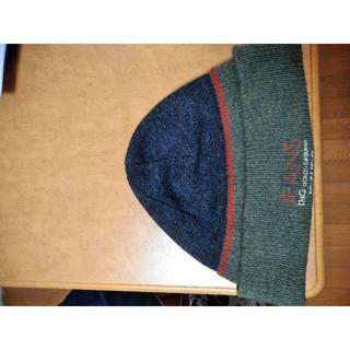ドルチェアンドガッバーナ(DOLCE&GABBANA)のドルガバの冬物キャップ(ニット帽/ビーニー)