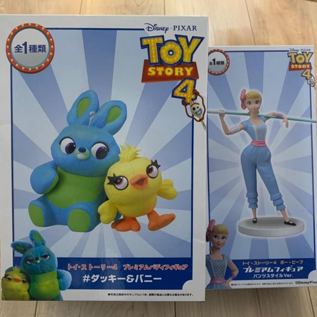Disney(ディズニー)のトイストーリー4 1000ピース パズル&フィギュア まとめ売り エンタメ/ホビーのおもちゃ/ぬいぐるみ(キャラクターグッズ)の商品写真