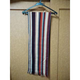 ランバンオンブルー(LANVIN en Bleu)のマフラー 羊毛100% ドイツ製(マフラー)