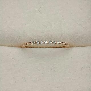 ヨンドシー(4℃)の4℃ K10 ダイヤ リング(リング(指輪))