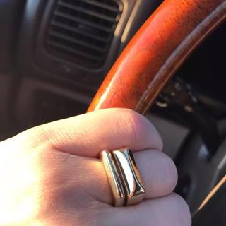 アガット(agete)の7号 リング NEW 可愛すぎるデザインリング(リング(指輪))