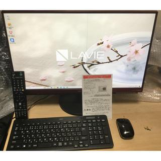 エヌイーシー(NEC)の★訳あり!23.8型!i7 7500U/ハイレゾ!LAVIE DA770/GAR(デスクトップ型PC)