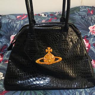 Vivienne Westwood - ヴィヴィアンウエストウッド 黒 エナメル  ヤスミン バッグ