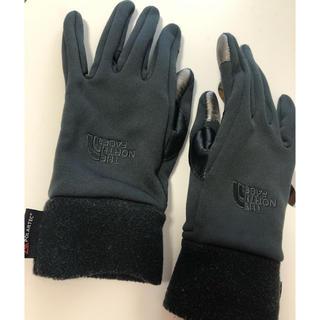 ザノースフェイス(THE NORTH FACE)のTHE NORTH FACE 手袋 グローブ イータッチ 黒(手袋)