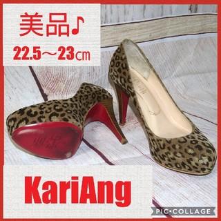 カリアング(kariang)のKariAng レオパード ヒール レッドソール(ハイヒール/パンプス)