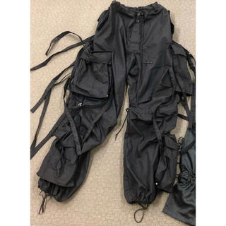 RAF SIMONS - uk テクノパンツ レイヴパンツ techno pants rave