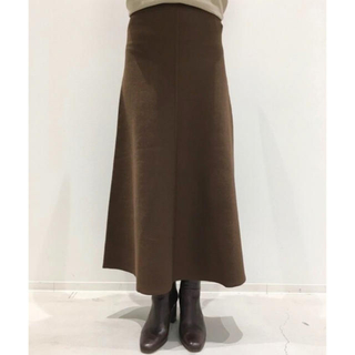 L'Appartement DEUXIEME CLASSE - アパルトモン Flare スカート 今季新品 ブラウン