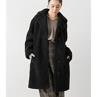 プラージュ(Plage)のPlage プラージュ 購入【STAND スタンド】エコファー コート 黒 (毛皮/ファーコート)