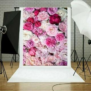 お部屋 布 背景 お花