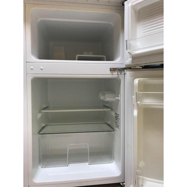 送料込み!!2017年製 冷凍冷蔵庫90L スマホ/家電/カメラの生活家電(冷蔵庫)の商品写真