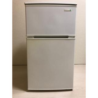 送料込み!!2017年製 冷凍冷蔵庫90L(冷蔵庫)