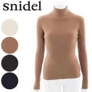 snidel - スナイデル/白タートルネックニット