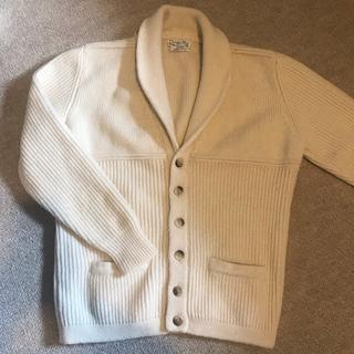 クリスチャンディオール(Christian Dior)のクリスチャンディオール Christian Dior ホワイトニットセーター(ニット/セーター)