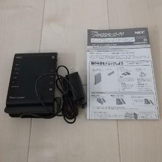 エヌイーシー(NEC)のNECルーター Aterm WF1200HP(PC周辺機器)