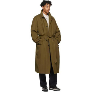LEMAIRE - lemaire tobacco great raincoat
