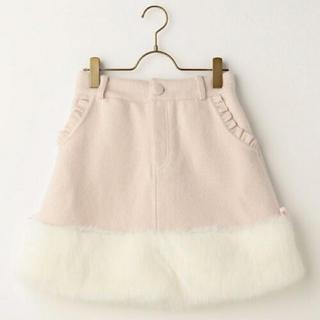LIZ LISA - 裾ファー台形スカート