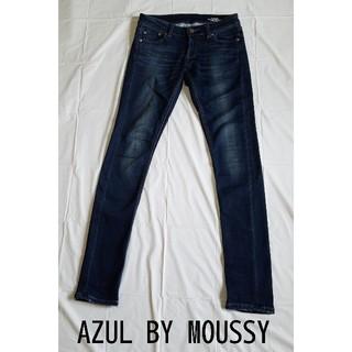 アズールバイマウジー(AZUL by moussy)のアズール バイ マウジー ストレッチデニム スキニー サイズ23(デニム/ジーンズ)