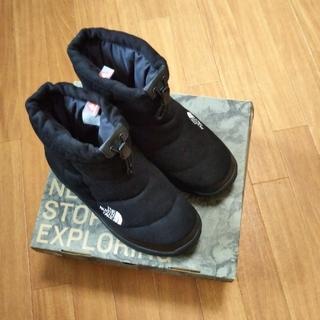 ザノースフェイス(THE NORTH FACE)のノースフェイス ブーツ【27cmブラック、ショート、ウール】(ブーツ)