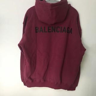 Balenciaga - Balenciaga パ一力ー  新品未使用 ワイン M 1枚