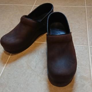 ダンスコ(dansko)のM様専用☆ダンスコ  プロフェッショナル  ブラウン 39(ローファー/革靴)