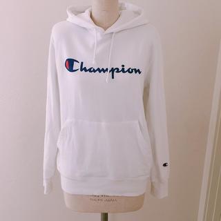 チャンピオン(Champion)の【美品】ベイフロー  championパーカー M(パーカー)