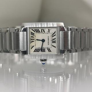 Cartier - カルティエCartierタンクフランセーズ 稼働 箱付き 女性 @ivv