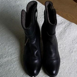 ヒミコ(卑弥呼)の卑弥呼  ブーツ  24.5 黒  ブラック(ブーツ)