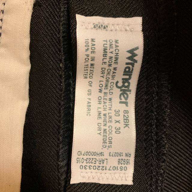 Wrangler(ラングラー)のWrangler ランチャー ドレスジーンズ スラックス 30 スタプレ メンズのパンツ(デニム/ジーンズ)の商品写真