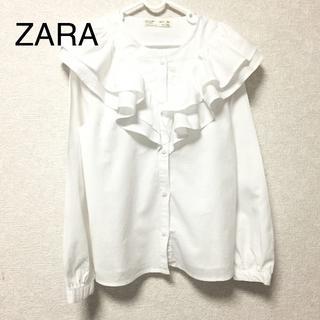 ZARA KIDS - ZARA KIDS フリル シャツ 140