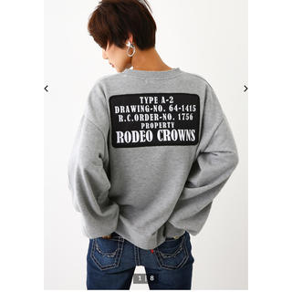 RODEO CROWNS WIDE BOWL - ロデオクラウンズ トレーナー