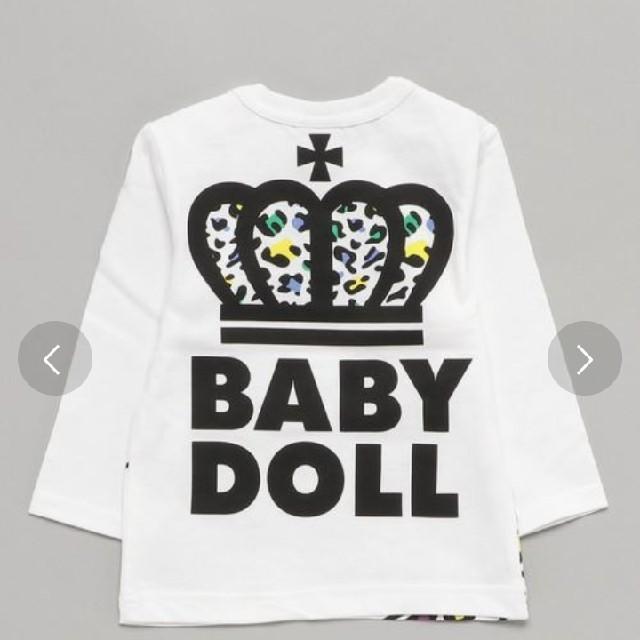 BABYDOLL(ベビードール)のベビードール ロンT120㌢ キッズ/ベビー/マタニティのキッズ服男の子用(90cm~)(Tシャツ/カットソー)の商品写真