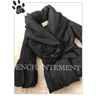 ルシェルブルー(LE CIEL BLEU)の47 ◆美品 ◆アンシャントマン■7分袖 ダウン コート ジャケット■(ダウンコート)