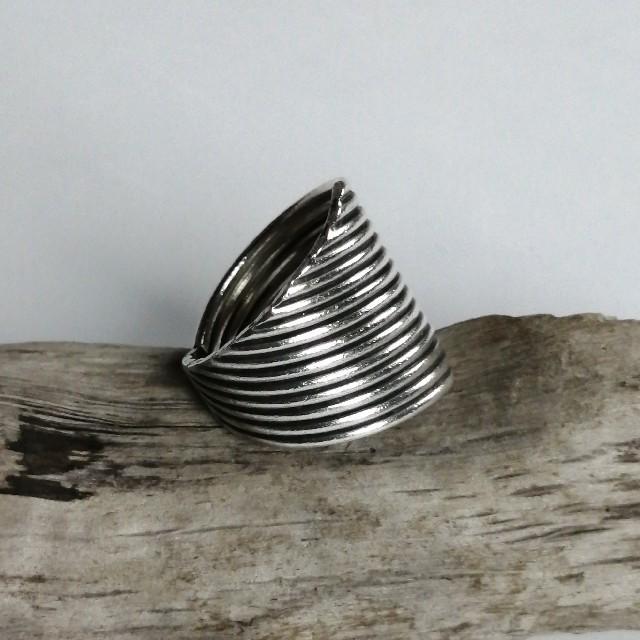 エスニック カレン シルバー リング 15 レディースのアクセサリー(リング(指輪))の商品写真