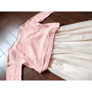 HONEYS - knit + tulle one-piece