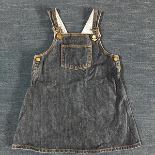 PETIT BATEAU - プチバトー ジャンパースカート