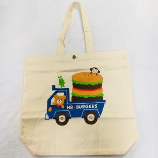 ホットビスケッツ(HOT BISCUITS)の新品 ミキハウスノベルティ ホットビスケッツバッグ 手提げ袋 エコバッグ(エコバッグ)