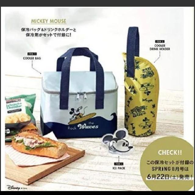 ミッキーマウス(ミッキーマウス)の128 【即購入不可】 SPRiNG 8月号 付録 レディースのバッグ(トートバッグ)の商品写真