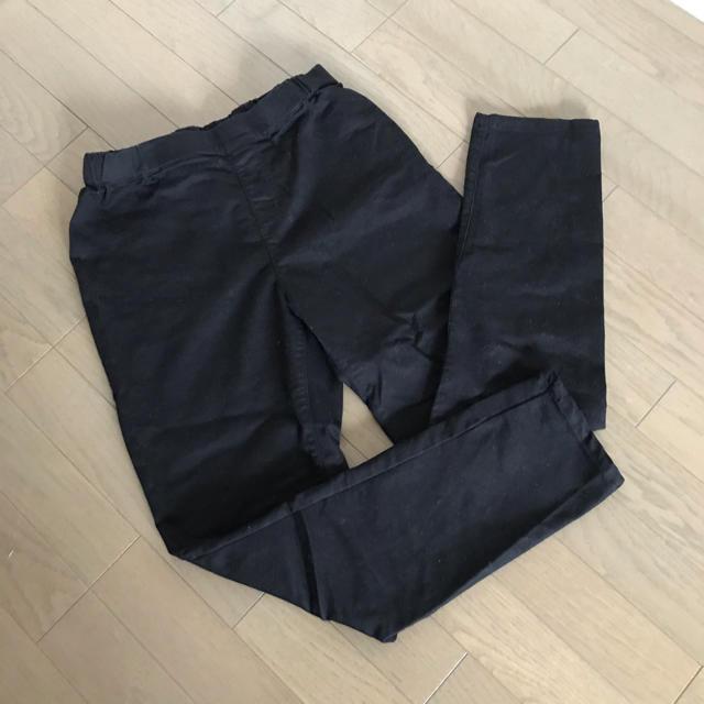 HONEYS(ハニーズ)の黒 スキニーパンツ ウェストゴムLLサイズ レディースのパンツ(スキニーパンツ)の商品写真