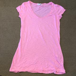 ザラ(ZARA)のZARA ザラ Tシャツ ピンク Sサイズ 新品(Tシャツ(半袖/袖なし))