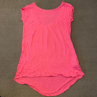 ザラ(ZARA)のZARA Tシャツ ピンク Mサイズ 新品(Tシャツ(半袖/袖なし))