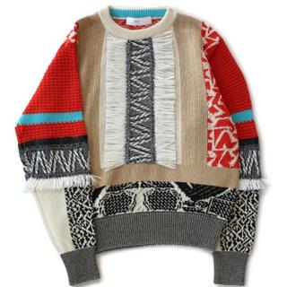 TOGA - 美品!TOGA PULLA Mix jacquard knit pullover