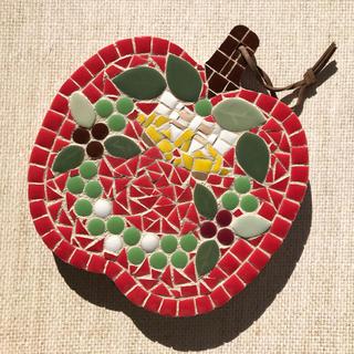 モザイクタイル鍋敷き(インテリア雑貨)